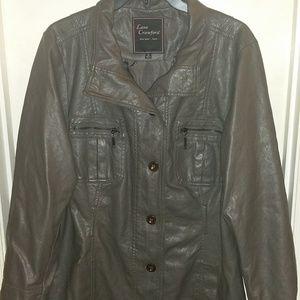 Jackets & Blazers - leather jacket by Lane Crawford size 1x women